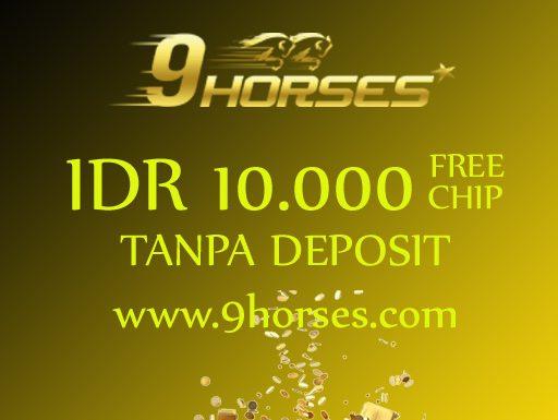 CAIRKAN FREEBET IDR 10.000 TANPA DEPOSIT HANYA DI 9HORSE.COM